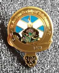 St. Andrew Society Membership Pin
